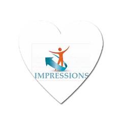 Impressions Magnet (heart)