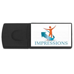 Impressions 4GB USB Flash Drive (Rectangle)