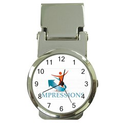 Impressions Money Clip with Watch