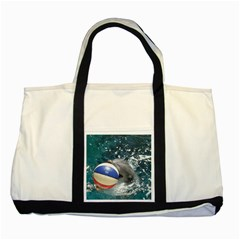 120 Two Toned Tote Bag