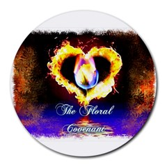 TheFloralCovenant 8  Mouse Pad (Round)