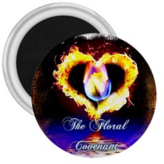 Thefloralcovenant 3  Button Magnet