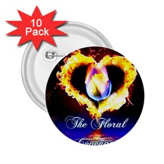 TheFloralCovenant 2.25  Button (10 pack)