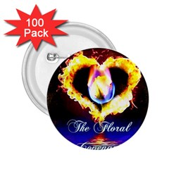 TheFloralCovenant 2.25  Button (100 pack)