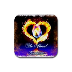 TheFloralCovenant Drink Coasters 4 Pack (Square)