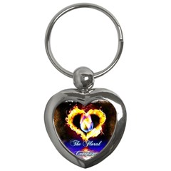 Thefloralcovenant Key Chain (heart)