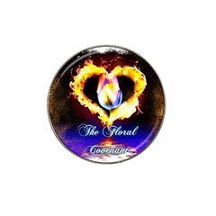 Thefloralcovenant Golf Ball Marker (for Hat Clip)