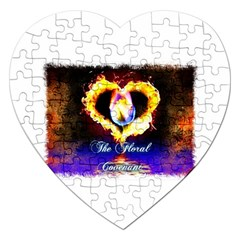 TheFloralCovenant Jigsaw Puzzle (Heart)