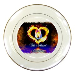 TheFloralCovenant Porcelain Display Plate