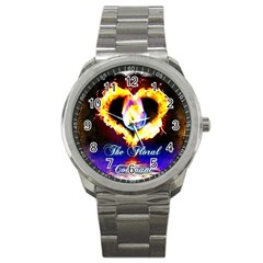 Thefloralcovenant Sport Metal Watch