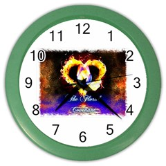 TheFloralCovenant Wall Clock (Color)