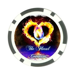 TheFloralCovenant Poker Chip 10 Pack