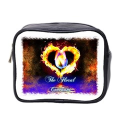 TheFloralCovenant Mini Travel Toiletry Bag (Two Sides)