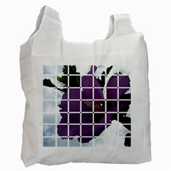 Hibiscus Recycle Bag (one Side)