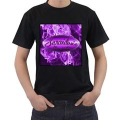 Flaming Hope Tshirt Mens' T Shirt (black)