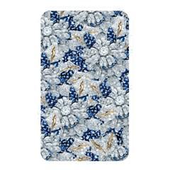 Flower Sapphire And White Diamond Bling Memory Card Reader (rectangular)