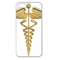 Caduceus Medical Symbol 10983331 Png2 Apple Seamless iPhone 5 Case (Clear)