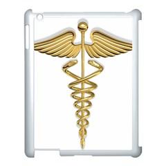 Caduceus Medical Symbol 10983331 Png2 Apple Ipad 3/4 Case (white)