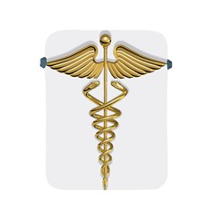Caduceus Medical Symbol 10983331 Png2 Apple Ipad 2/3/4 Protective Soft Case