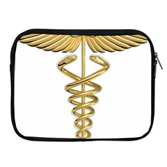 Caduceus Medical Symbol 10983331 Png2 Apple iPad 2/3/4 Zipper Case