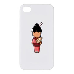 Japanese Geisha Apple Iphone 4/4s Hardshell Case