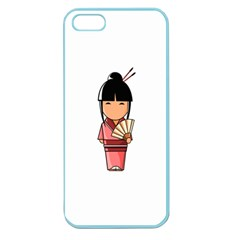 Japanese Geisha Apple Seamless iPhone 5 Case (Color)