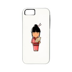 Japanese Geisha Apple iPhone 5 Classic Hardshell Case (PC+Silicone)