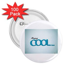 Cool Designs Store 2 25  Button (100 Pack)
