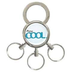 Cool Designs Store 3-Ring Key Chain