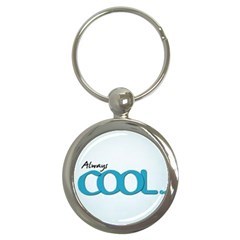 Cool Designs Store Key Chain (Round)