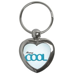 Cool Designs Store Key Chain (Heart)