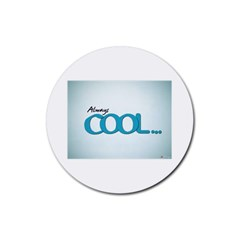 Cool Designs Store Drink Coasters 4 Pack (Round)