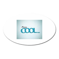 Cool Designs Store Magnet (Oval)