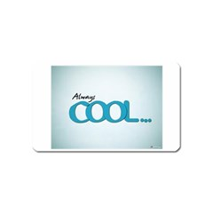 Cool Designs Store Magnet (Name Card)