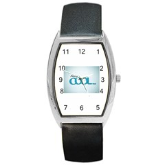Cool Designs Store Tonneau Leather Watch