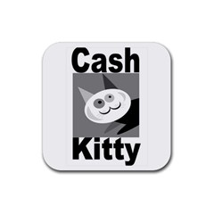 Cash Kitty Logo Drink Coasters 4 Pack (Square)