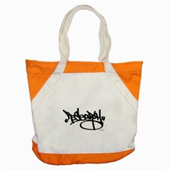 RDLX Handstyle - Black Print Accent Tote Bag