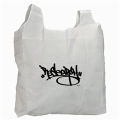 RDLX Handstyle - Black Print Recycle Bag (One Side)