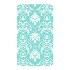 Tiffany Blue and White Damask Memory Card Reader (Rectangular)