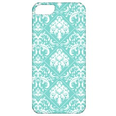 Tiffany Blue and White Damask Apple iPhone 5 Classic Hardshell Case