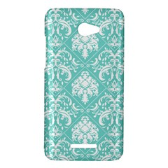 Tiffany Blue and White Damask HTC X920E(Butterfly) Case