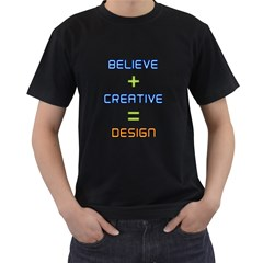Word Believe And Word Creative And Word Design