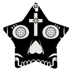 Sugar Skull Star Ornament
