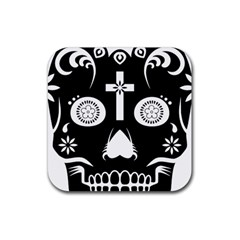 Sugar Skull Drink Coaster (Square)