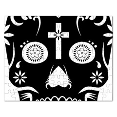 Sugar Skull Jigsaw Puzzle (rectangle)
