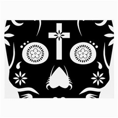 Sugar Skull Glasses Cloth (Large, Two Sided)