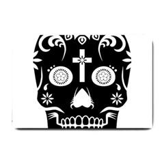 Sugar Skull Small Door Mat