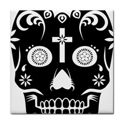 Sugar Skull Face Towel