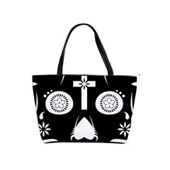 Sugar Skull Large Shoulder Bag