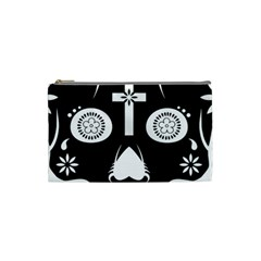 Sugar Skull Cosmetic Bag (Small)